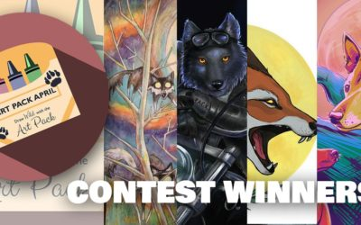 2020 Art Pack April Contest: Inspired by Wild Spirit Wolf Sanctuary Founder, Jacque Evans